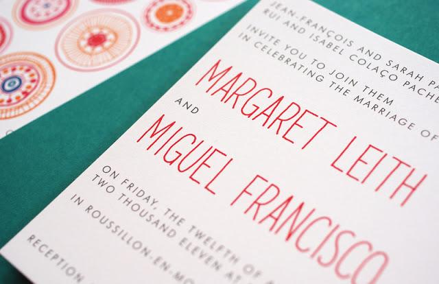 Offset Printing wedding invitations