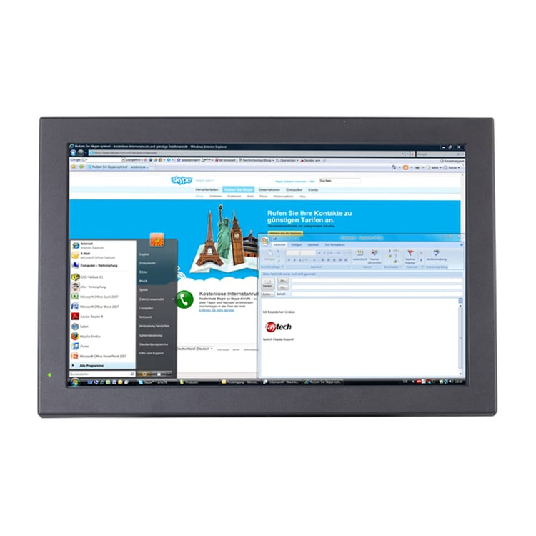 faytech 19 inch Resistive Touchscreen PC 3