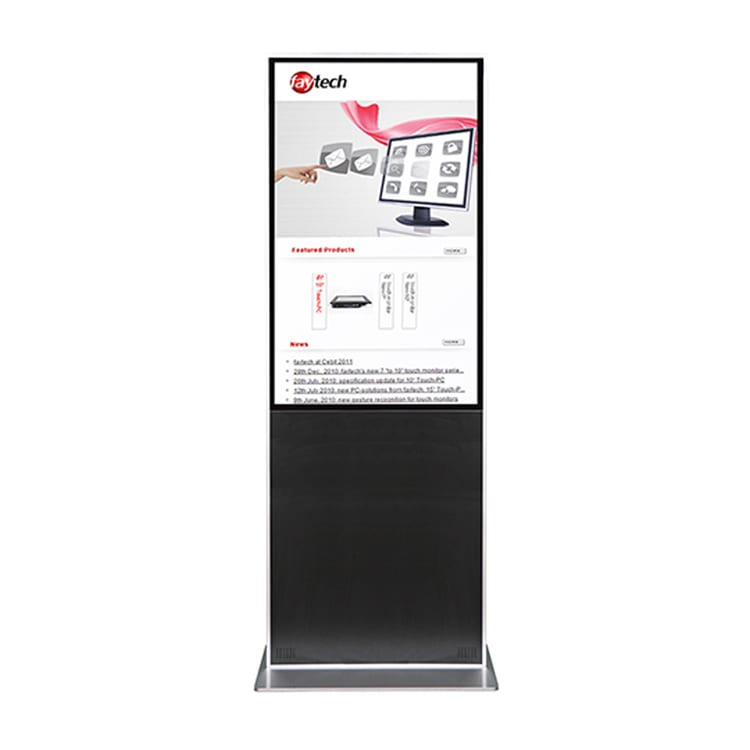 faytech 55 inch Capacitive Touchscreen PC Kiosk