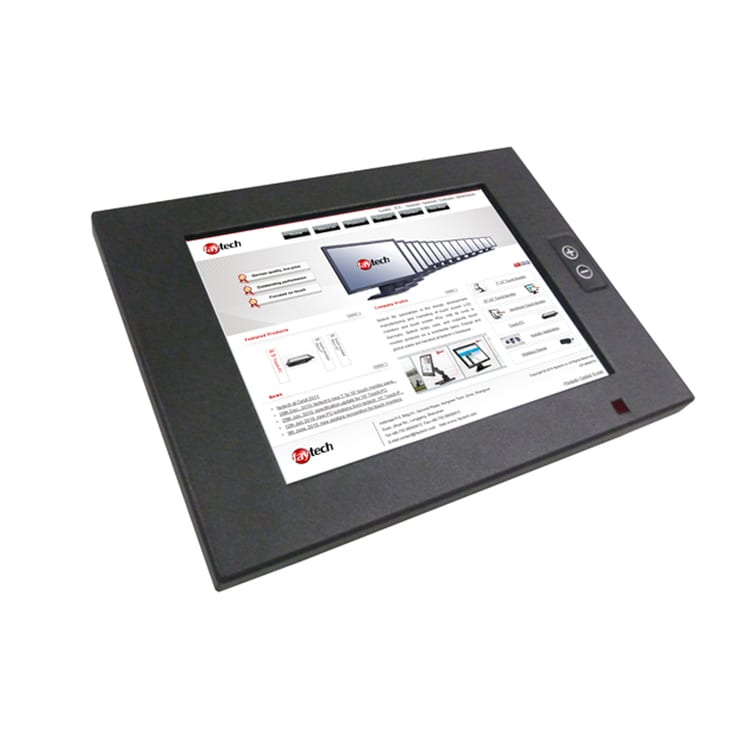 faytech 8 inch IP65 High Brightness Touchscreen Monitor