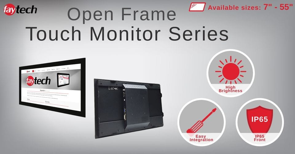 The Open Frame Capacitive Touch Series