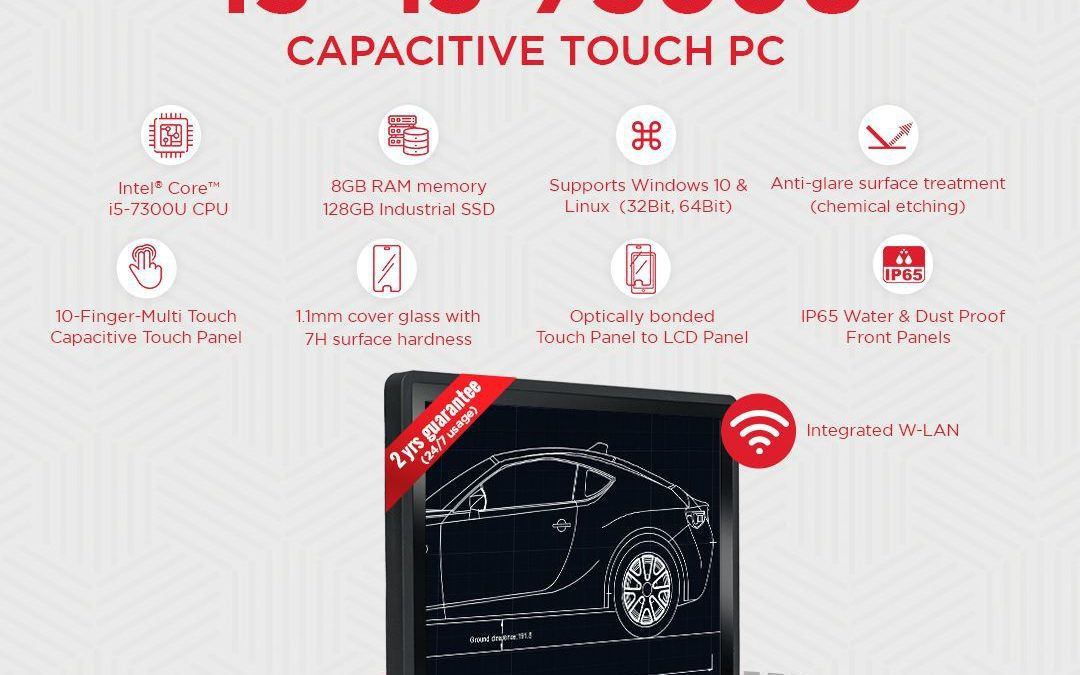 faytech's 15″ Capacitive Touch PC