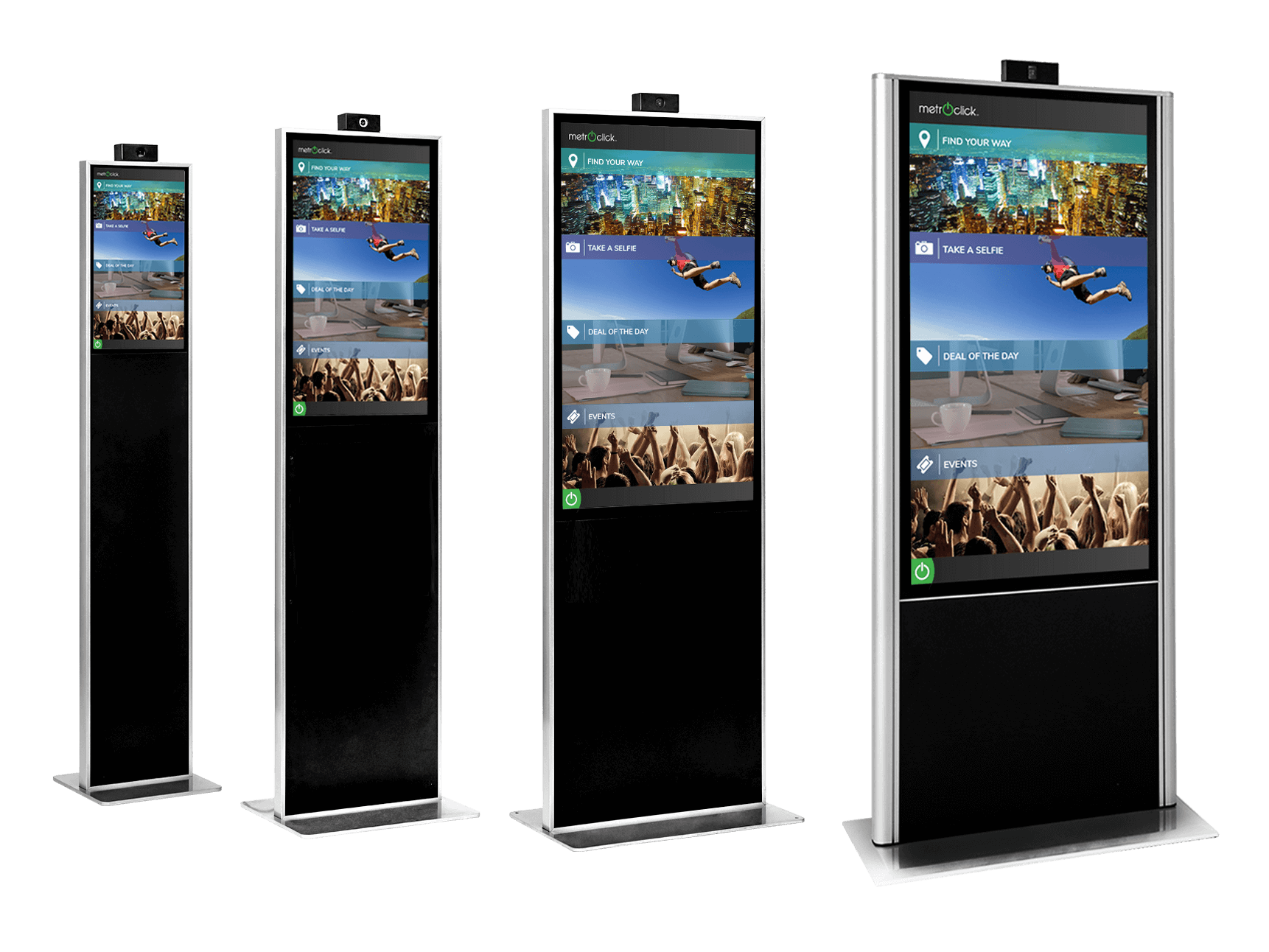 How Your Business Might Use a MetroClick Kiosk With a Double Screen